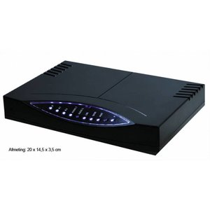 Checktel s2v-30-d 30 gelijktijdige VoIP gesprekken (SIP) opnemen