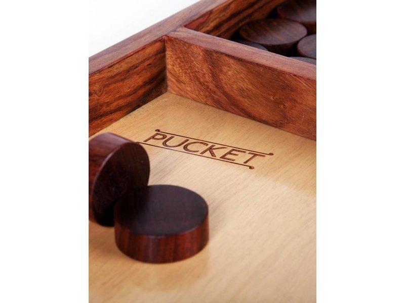 Pucket houten bordspel