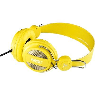 WeSC Oboe   Vibrant   Yellow   Hoofdtelefoon   Koptelefoon
