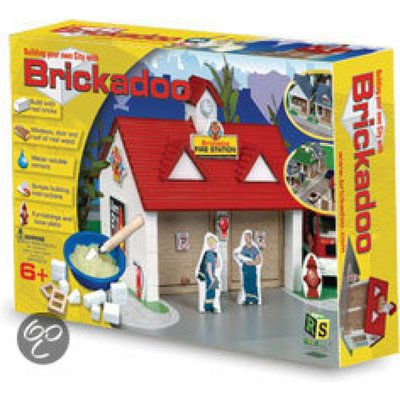 Brickadoo brickadoo-brandweer-kazerne