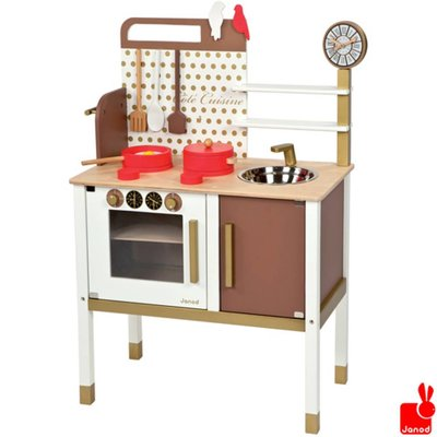 Janod keukentje-chic-inclusief-8-accessoires