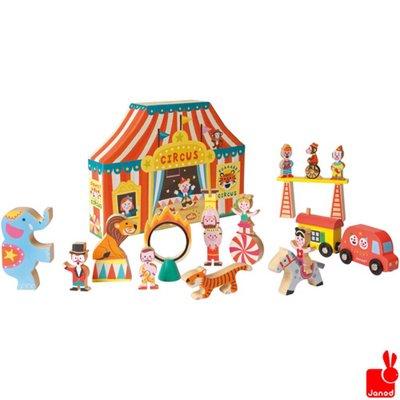 Janod story-box-het-circus