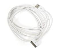 3 meter kabel voor iPhone 4(S)