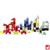 Janod Kubix 100 gekleurde blokken