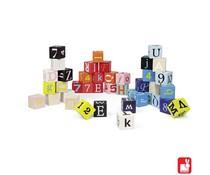 Janod Kubix 40 blokken letters en cijfers
