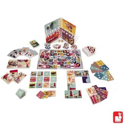 Janod Touroperator spel met verschillende spellen in één