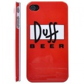 Iphone 4 (S) Duff beer hoes