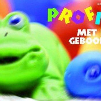 Peas Wenskaart Kikker 'Proficiat met de Geboorte'