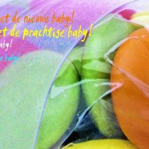 Peas Wenskaart Eitjes - Geboorte