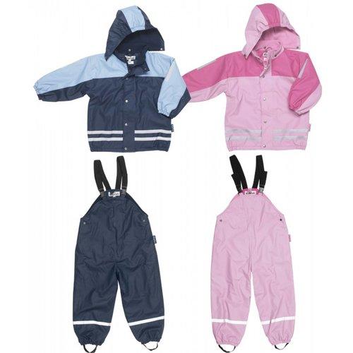 Playshoes Regen-Sneeuw-Skipak in Blauw of Roze
