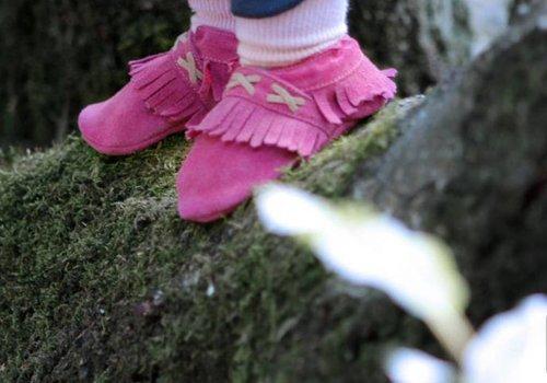 Babyschoentjes en Lederen slofjes
