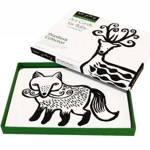 Wee Gallery Art Cards Woodland - Bosdieren
