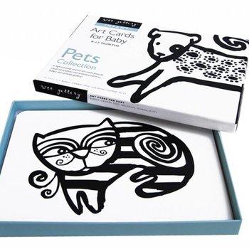 Wee Gallery Art Cards Pets - huisdieren