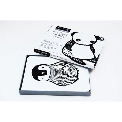 Wee Gallery Art Cards Black & White - zwart-wit