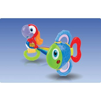 Nûby Tropical Teether Pals bijtring