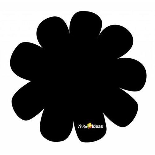 Krijtbordsticker bloem groot!