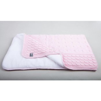Baby's Only Kabel Teddy Boxkleed/parlkegger - Baby Roze