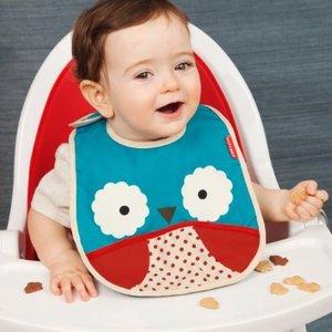 Skip hop Zoo Owl - kinderslabbe Uiltje
