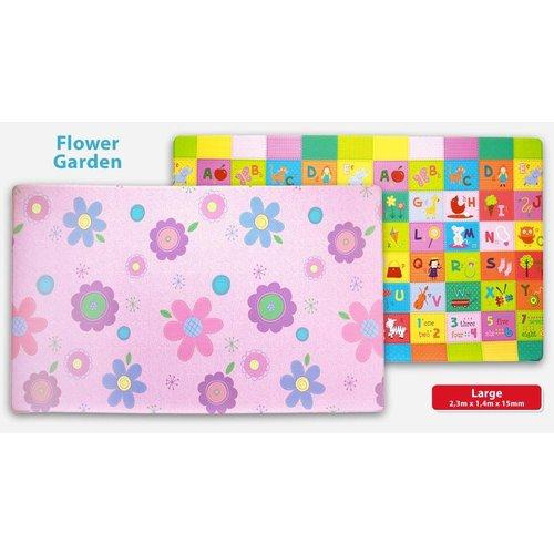 Dwinguler Speeltapijt - Speelkleed Flower garden L