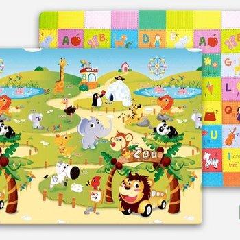 Dwinguler Speeltapijt - Speelkleed Zoo - Dierentuin M