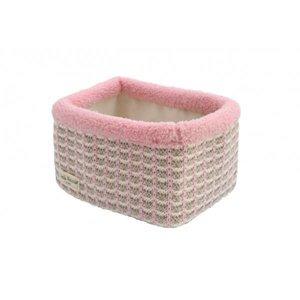 Mandje LN mixed pink/sand/off-white