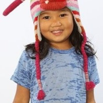 Happy Hats Mabel Monster Muts 100% wol - handmade