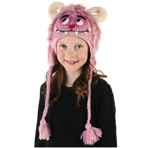 Happy Hats Maddy Monster Muts 100% wol - handmade
