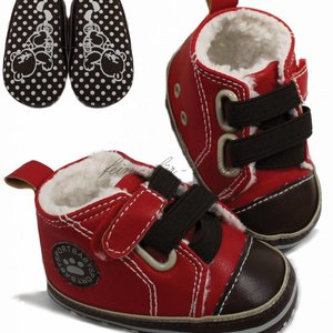 Soft Touch Stoere schoentjes Leather&Fur-look