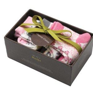 Petunia Pickle Bottom Luxe babysokjes in cadeauverpakking