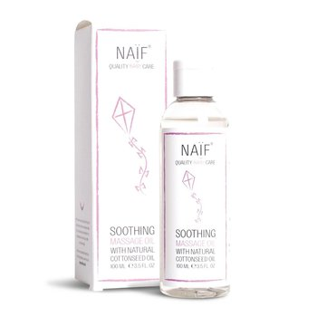 NAÏF Zachte babyolie - Soothing (massage) Baby Oil