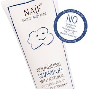 NAÏF Nourishing Shampoo - baby shampoo