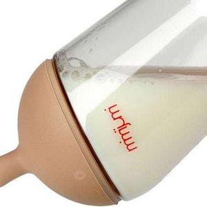 Mimijumi Fles voor borstvoedings-baby's - 240 ml