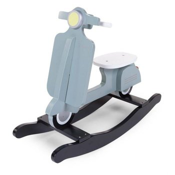 Childwood Houten schommel scooter Mint/blauw/zwart