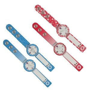 Infoband Polsbandje horloge Roze + UV-indicator