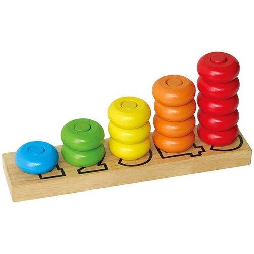 VigaToys Counting Numbers - tellen en kleuren leren