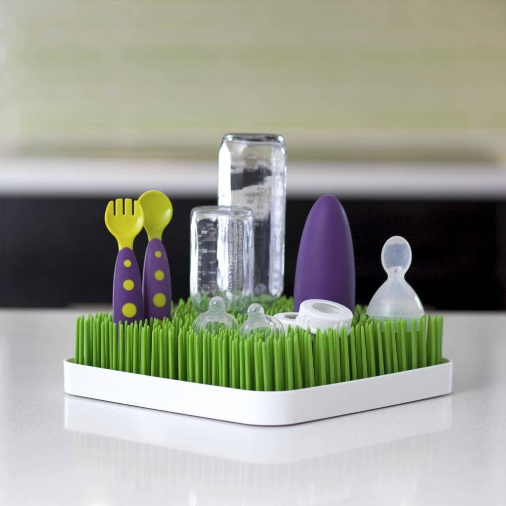 Boon Grass Trendy afdruiprekje - Groen - 24,1 x 24,1 x 6,4 cm ...