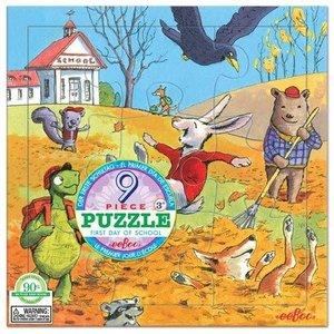 Puzzel - De eerste schooldag - herfst