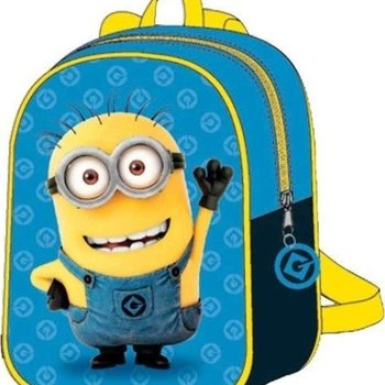 Despicable Me rugzakje Minions donkerblauw en lichtblauw