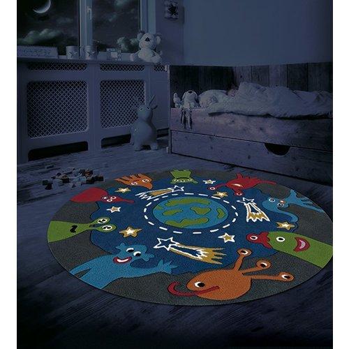 Arte Espina Spirit Glowy Monster, Ruimtewezens - Speeltapijt Glow in the Dark