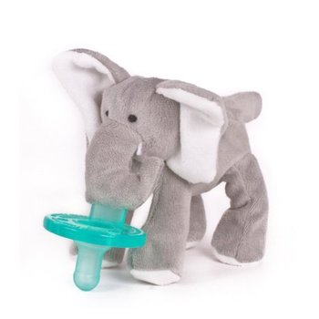 WubbaNub Speen met Speenknuffel Olifantje