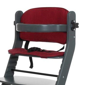 Baninni Kussentje voor Kinderstoel - Zwart of Rood