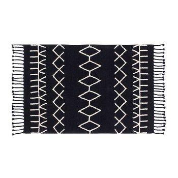 Lorena Canals Wasbaar tapijt Bereber Black - 140x200cm
