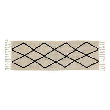 Lorena Canals Wasbaar tapijt Bereber Beige - 80x230cm