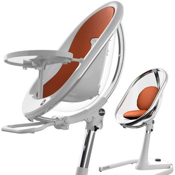Mima Moon 2G Highchair - White/Crystal
