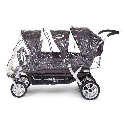 Childwheels Regenhoes voor Triplette, Quadruple of Sixseater