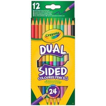 Crayola 12 Duo Potloden - 24 kleuren