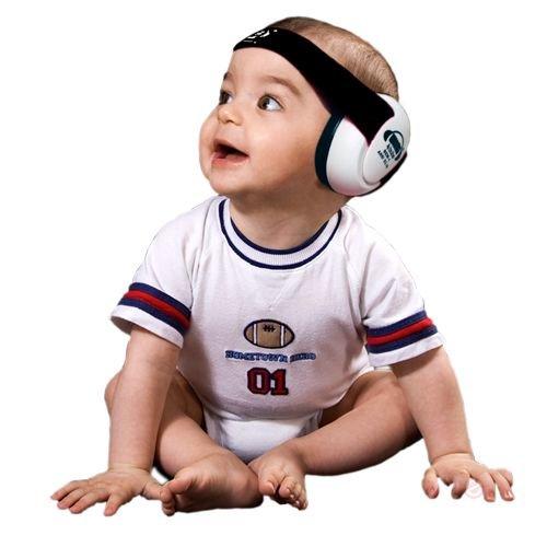 EM'S 4 Kids Gehoorbeschermer voor Baby's Wit/zwart