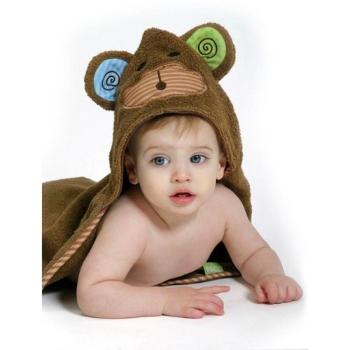 Zoocchini Baby badcape - Max the Monkey
