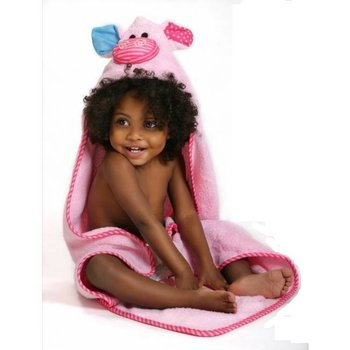 Zoocchini Baby badcape - Pinky the Pigglet