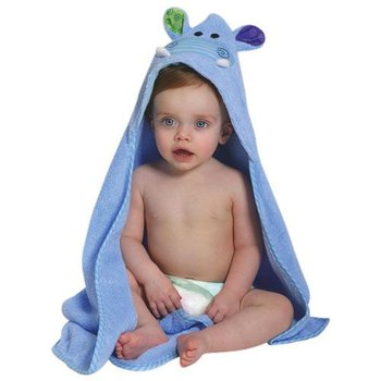 Zoocchini Baby badcape - Henry the Hippo